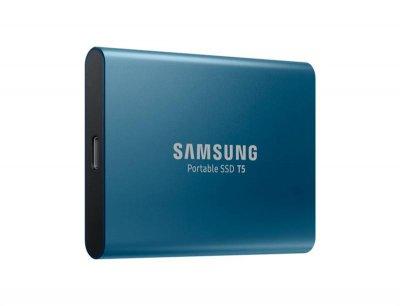 """Накопичувач зовнішній SSD 2.5"""" 500GB USB Samsung T5 (MU-PA500B/WW)"""