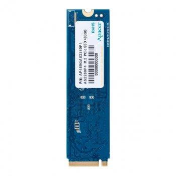 Накопичувач SSD 480GB Apacer AS2280P4 M. 2 2280 PCIe 3.0 x4 3D TLC (AP480GAS2280P4-1)