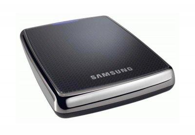"""Накопичувач зовнішній HDD 2.5"""" 320GB USB Samsung Portable Black (HXMU032)"""
