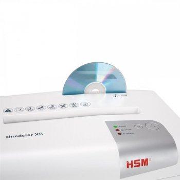 Знищувач документів HSM Shredstar X8 (4,5x30)