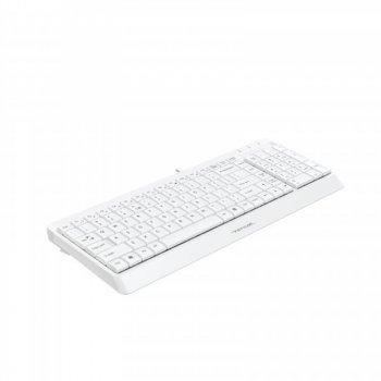 Клавіатура A4Tech Fstyler FK15 White USB