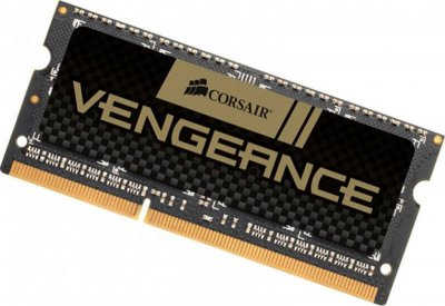 Модуль пам'яті SO-DIMM 8GB/DDR3 1600 Corsair Vengeance Black (CMSX8GX3M1A1600C10)