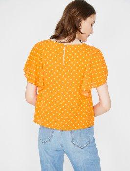 Блузка Koton 8YAK68501PW-19E Orange Design