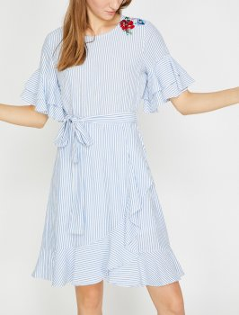 Платье Koton 8YAK83321EW-03N Blue Stripe