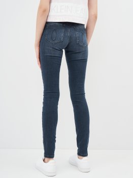 Джинси Calvin Klein Jeans Mid Rise Skinny J20J215429-1BJ Denim Dark