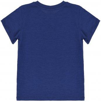 Футболка H&M 7Z4953275 Синяя (до 98 см)