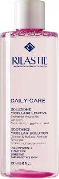 Міцелярна вода для очищення чутливої шкіри обличчя й очей Rilastil Daily Care 250 мл (8033224817101)
