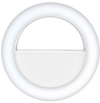 Селфи кольцо XoKo RGB LED 9 см White (BS-007U-WHT)