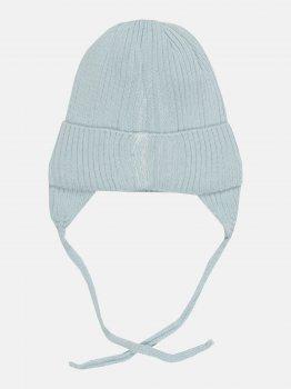 Демисезонная шапка с завязками Elf-kids Ян 46 см Голубая (ROZ6400046317)