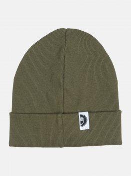 Демисезонная шапка Dembohouse Весна 2021 Сулейман 21.02.002 52-54 см Хаки (2210200252262)