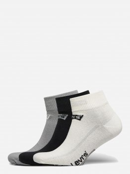 Набір шкарпеток Levi`s 903051001-003 3 пари White/Grey/Black