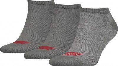 Набір шкарпеток Levi's 903050001-758 3 пари Світло-сірий