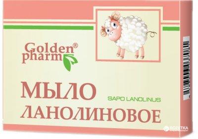 Упаковка мыла Golden Pharm Ланолинового 70 г х 5 шт (81028778266546)