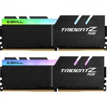 Модуль пам'яті для комп'ютера DDR4 64GB (2x32GB) 3600 MHz Trident Z RGB G. Skill (F4-3600C16D-64GTZR)