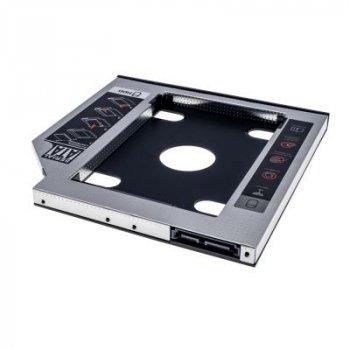 """Фрейм-адаптер Grand-X HDD 2,5"""" SATA2/SATA3 Slim 9,5 mm (HDC-24С)"""