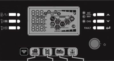 Інвертор ДБЖ AXIOMA Energy Гібридний 5000Вт 48В ISMPPT BFP 5000 (ISMPPTBFP5000)