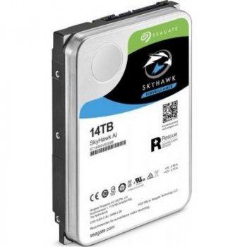 Жорсткий диск HDD Seagate SkyHawk Al Surveillance 256MB (ST14000VE0008)