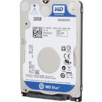 "Жорсткий диск Western Digital Blue 320ГБ 5400об/м 8МБ 2.5"" SATA III (WD3200LPVX)"