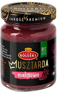 Упаковка горчицы Roleski с малиной без глютена 100 г х 2 шт (1901044022388)