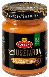 Упаковка горчицы Roleski с персиком без глютена 100 г х 2 шт (1901044022371)