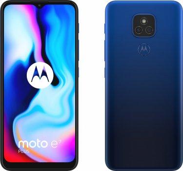 Мобільний телефон Motorola E7 Plus 4/64 GB Blue (PAKX0008RS)