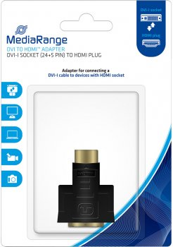 Переходник MediaRange DVI-I to HDMI (MRCS171)