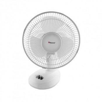 Настільний вентилятор Domotec MS-1624, 2 режими Білий (VO2011)
