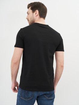 Футболка Calvin Klein Jeans Mixed Technique Instit Logo Tee J30J316602-BEH Pvh Black