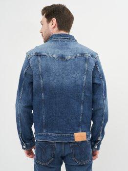 Джинсовая куртка Calvin Klein Jeans Foundation Jacket J30J317246-1BJ Denim Dark
