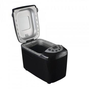 Хлібопічка VILGRAND краща домашня хлібопічка з замісом на 15 програм для простого смачного хліба, пирога, кексу, йогурту, здоби, паски, паски і джему. Чорна VBM85152B