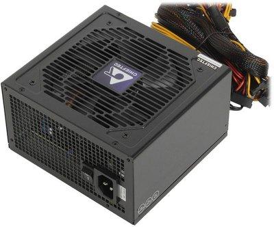 Блок питания Chieftec CPS-550S Force; ATX 2.3, APFC, 12cm fan, КПД >85%, RTL