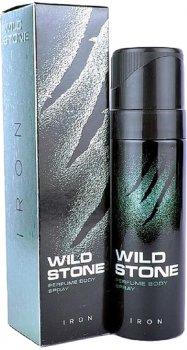 Туалетная вода для мужчин Wild Stone Body Perfume Iron 120 мл (8904006307366)