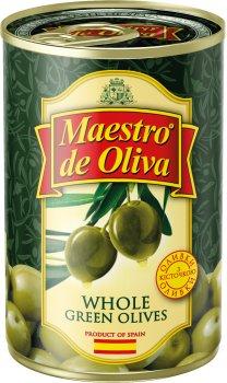 Оливки с косточкой Maestro de Oliva 420 г (8436024299199)
