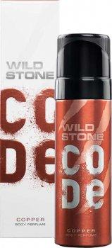 Туалетная вода для мужчин Wild Stone Code Body Perfume Copper 120 мл (8904006302514)