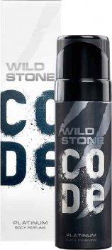 Туалетная вода для мужчин Wild Stone Code Body Perfume Platinum 120 мл (8904006306192)
