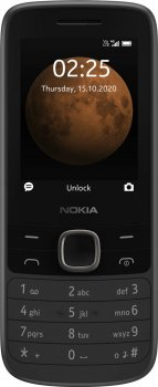 Мобильный телефон Nokia 225 4G Dual Sim Black (16QENB01A02)
