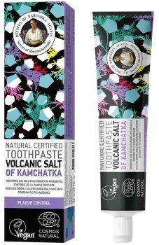 Натуральная зубная паста Рецепты Бабушки Агафьи Вулканическая соль Камчатки 85 г (4743318102313)