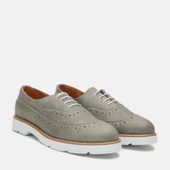 Туфлі Ashoes 3350А00 Сіро-зелені