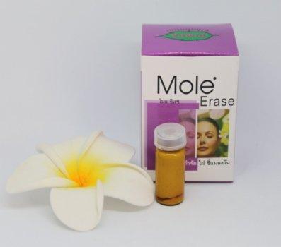 Средство Thai Herb Mole Erase для удаления бородавок и паппилом 3 гр