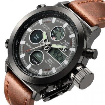 Армейские наручные часы AMST Brown (DV458-9686f)