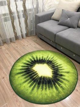 Килим 3D Ківі, діаметр 120 см Kiwi (op618434234)