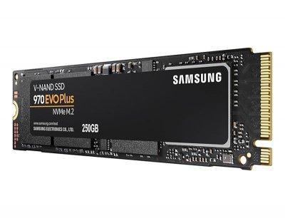 Накопитель SSD 250GB Samsung 970 EVO Plus M.2 PCIe 3.0 x4 V-NAND MLC (MZ-V7S250BW)