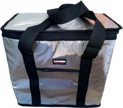 Сумка холодильник (термосумка) для пикника и активного отдыха Supretto, 25 л., Черный (Арт. 4842-2)