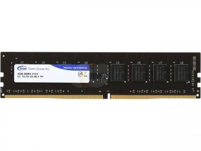 Модуль памяти Team DDR4 4GB 2133 Elite (TED44G2133C1501)
