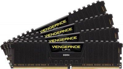 Модуль пам'яті Corsair DDR4 32Gb (4x8GB) 3600 Vengeance LPX Black (CMK32GX4M4D3600C16)