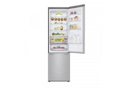 Холодильник з морозильною камерою LG GBB72NSDMN