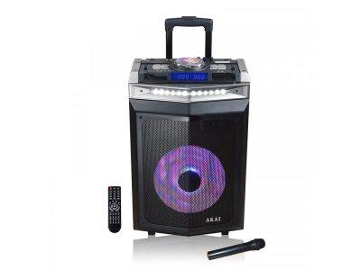 Портативна акустична система Akai DJ-6112BT