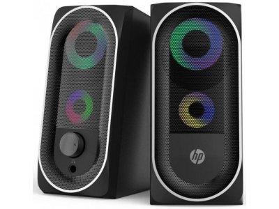 Акустична система HP DHE-6001 LED RGB Black