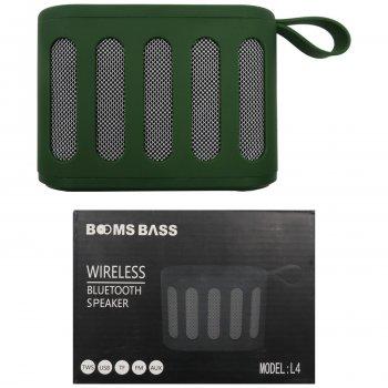 Колонка портативна Bluetooth BOOMS BASS L4 358 !!!