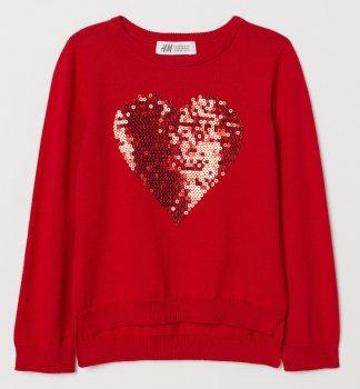 Джемпер H&M 0611144 8 Червоний